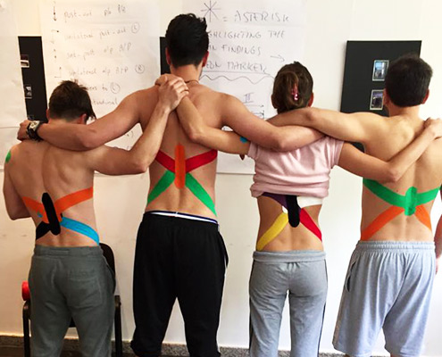 kinematic taping